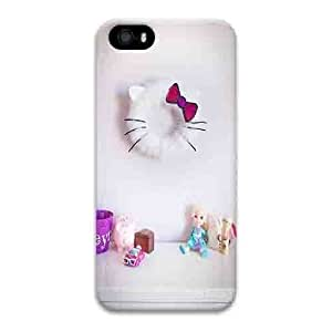 Iphone 5s Case,Hard PC Iphone 5s Protective Case for Ultimate Protect iphone 5s with Hello Kitty Inspired Wreath Tutorial