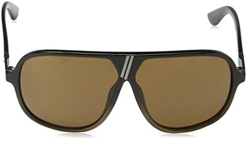 Diesel Lunette de soleil DL0043 Aviator - Black & Brown Frame/Brown Lens z1f9LfYZSW
