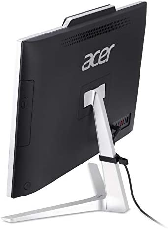 Acer Aspire Z24-890-UA91 AIO Desktop, 23.8 inches Full HD, 9th Gen Intel Core i5-9400T, 12GB DDR4, 512GB SSD, 802.11ac Wifi, USB 3.1 Type C, Wireless Keyboard and Mouse, Windows 10 Home, Silver