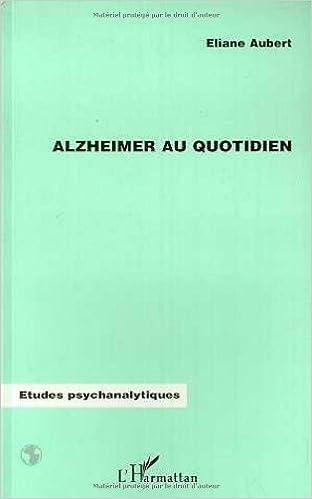 Livre Alzheimer au quotidien pdf