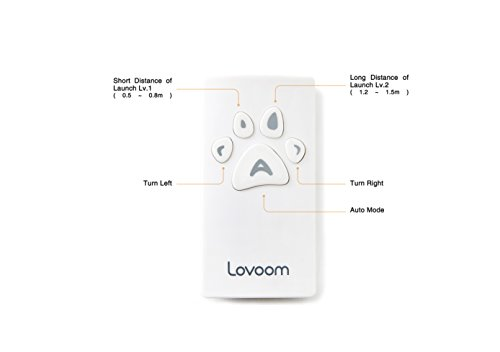 LOVOOM Pet Camera: Kibble Tossing Play, Wi-Fi Kibble Cam with Pan Zoom Two Way Audio Remote Control for Dogs and Cats (Black) by LOVOOM (Image #4)