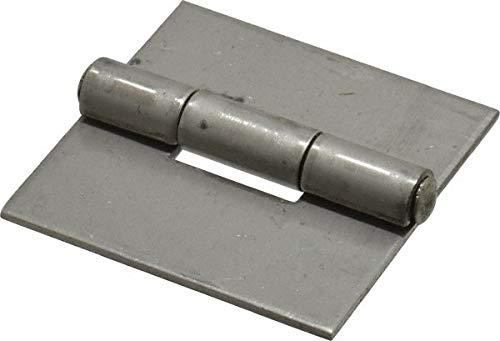2'' Long x 2'' Wide x 0.075'' Thick, 316 Stainless Steel Commercial Hinge pack of 10