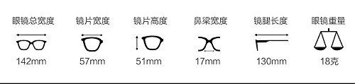 sol gafas grados Ice Gafas negras Degrees MS Gafas pionero de Gafas con gafas sol cenizas negro de marco Blue sol 100 550 Komny marea polarizadas de Gold z01qdqw