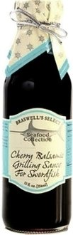 Braswell Seafood Select Balsamic Cherry Grilling Sauce for Swordfish