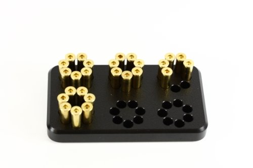 Speed Beez 7 Shot 38/357 Loading Block for the S&W 686 Plus (Taurus Tracker 357 Magnum 7 Shot Revolver)