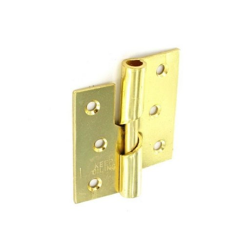 Securit Rising Butt Hinge Brass Plated 75mm M P Smith & Co S4332