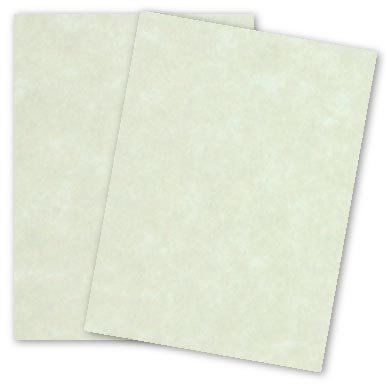 Natural 80 Lb Cover (NATURAL - 8.5 x 11 Parchment Card Stock - 80lb Cover - 25)