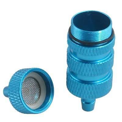 FidgetGear RC 1:8 Nitro On-Road Car Buggy Truck Aluminum Fuel Filter 80118 Blue Part from FidgetGear