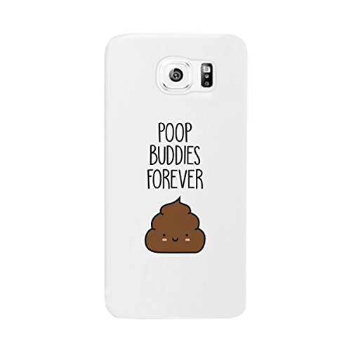 365 Printing Poop Buddies-Right White Matching Case Galaxy S6 Cute Birthday Gift