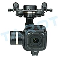Tarot GOPRO T-3D IV Metal 3 Axis Brushless Gimbal PTZ for GoPro 4 Hero4 Session TL3T02 W/ Battery Straps