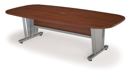 Thermofused Melamine Top Folding Table - OFM 55118-CHY Modular Conference Table, 48
