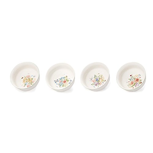 Mikasa Antique Garden Assorted Cereal Bowls - Set Of 4