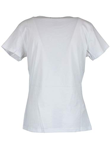 Pinko T shirt Blanc Femme 1b13tnze91z04 Coton gIwqgOr