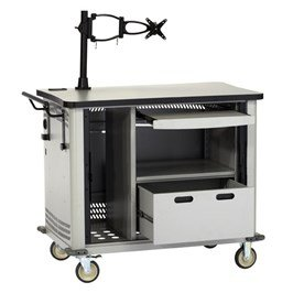 Black box MSC100 MCS32 Mobile Computer Cart by Black Box