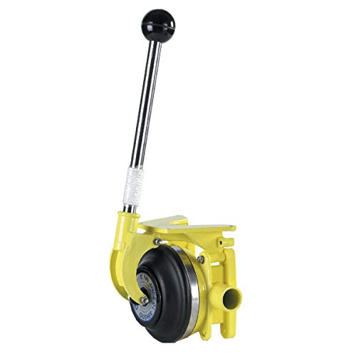 Whale Gusher - Whale BP3740 Gusher 10 Mk3 Manual Bilge Pump, Thru-Deck/Bulkhead, up to 17 GPM Flow Rate, 1 ½-Inch Hose Connections, for Boats Over 40 Feet