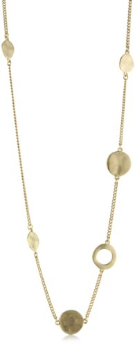 Kenneth Cole New York Gold-Tone Circle Necklace