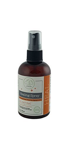 Healing Spray by VETENZA for DOGS and CATS | ALL NATURAL Wound Care | Relief from Itch and Hot Spots| MADE IN THE USA by Vetenza