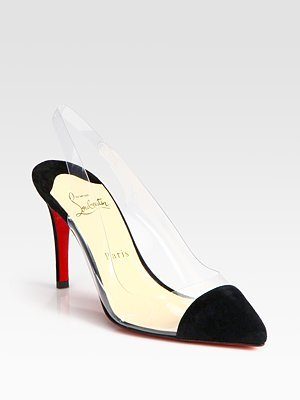 best loved 54317 f1050 Amazon.com | Women's Christian Louboutin Translucent Point ...