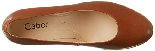 Gabor Damen Fashion Pumps Braun (cognac  Abs.Kork  24)