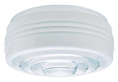 6-Inch Drum Shade Replacement Glass Shade - 5-7/8-Inch Fitter Opening (Vintage) Fitters Inch Ceiling Fan