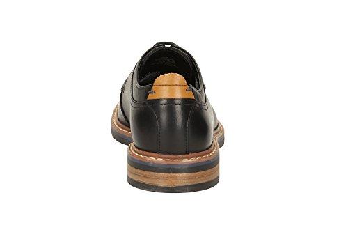 Clarks Vestir Hombre Darby Walk Gtx Piel Zapatos De Standard Passform Tamaño 42½