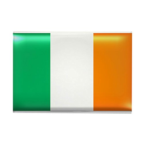 CafePress - Flag of Ireland Rectangle Magnet - Rectangle Magnet, 2