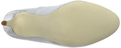 Blink Btildal, Chaussures à Talons - Avant du Pieds Couvert Femme Argent - Silber (100 Silver)