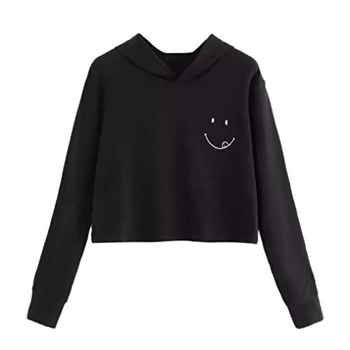 Clearance Sale! Wintialy Womens Autumn Long Sleeve Hoodie Sweatshirt Hooded Pullover Tops Blouse -