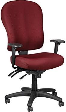 Tempur-Pedic TP4000 Ergonomic Fabric Mid-Back Task Chair Burgundy