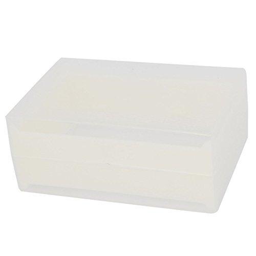eDealMax Apiculture  outils en plastique Honey Lattice Box Les abeilles produisent Mel Ruche Case