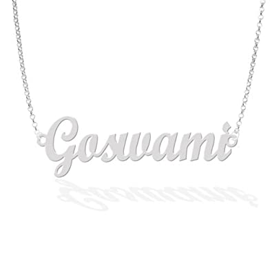 Buy personalised name necklace online at low prices in india personalised name necklace aloadofball Choice Image