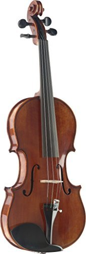 Stagg VN-3/4 HG Flamed Maple 3/4 Size Violin with Deluxe Soft Case Bow and Rosin Included [並行輸入品] B07931JSZP