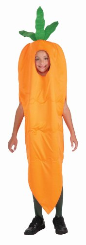Forum Novelties Fruits and Veggies Collection Carrot Child Costume, Small
