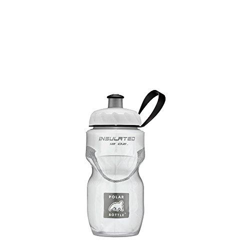 White Dual Compound - Polar Bottle Insulated Water Bottle - 12OZ White, 12 Oz