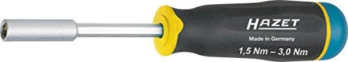 "Hazet 6001-3.0/3 3 Piece 1/4"" 1.5-3.0Nm Torque Screwdriver S"