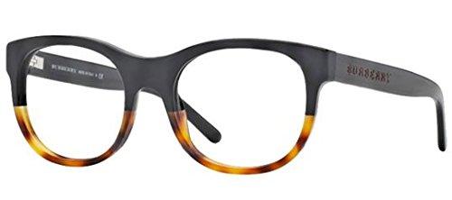 Burberry BE2169 Eyeglasses-3465 Black/Light Havana-52mm