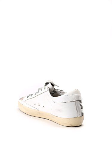 Golden Goose Sneakers Donna GCOWS590K1 Pelle Bianco/Nero