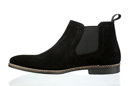 Boots Noir Tape Red bleu Stockwood Homme Chelsea qwg4nPtT