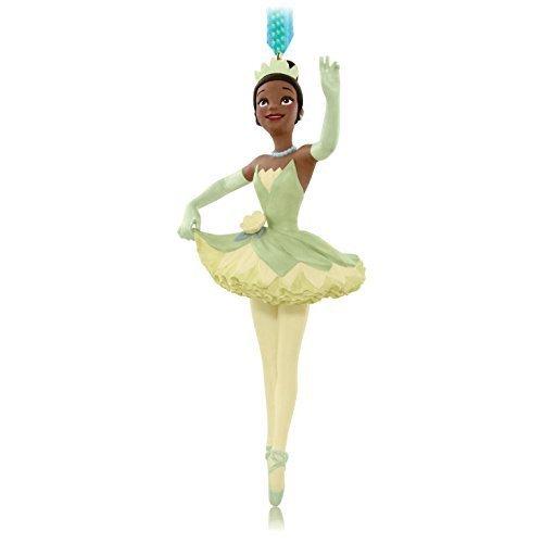 Frog Decorative Fan - Hallmark QXD6069 The Princess and The Frog Tiana Ballerina Ornament