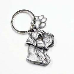 Bullmastiff Keychain by Karas and Rocha Marketing