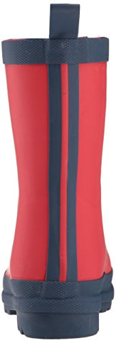 Boots Rain Hatley Navy Navy and Red Girls' Red qARg7P