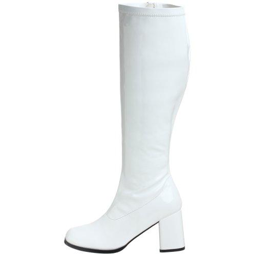 Gogo 300wc Para Mujer Pleaser Blanco Botines BHqOnCwW