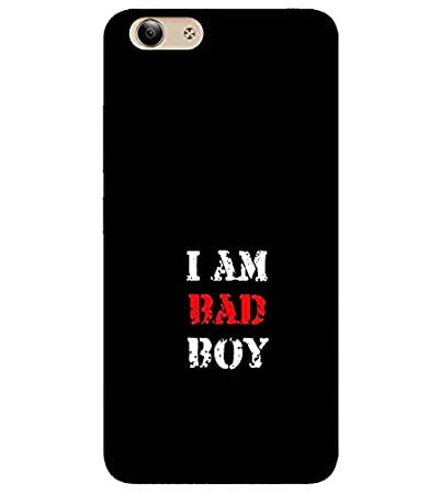 For Vivo Y53 I Am Bad Boy Printed Designer Back Case Amazonin