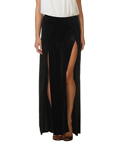 Velvet Black Para Pantalón Glamorous Mujer axqIUIT