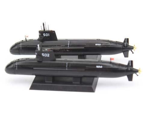1/900スケール 海上自衛隊 潜水艦 そうりゅう&うんりゅう