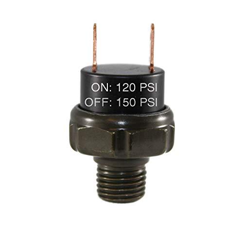 CompStudio 120-150 PSI Air Pressure Switch Tank Mount Type Thread 1/4