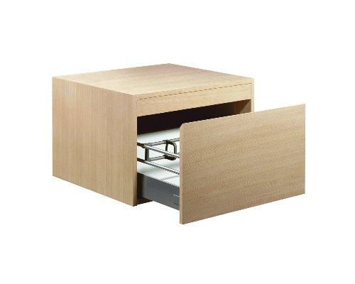 (KOHLER K-3080-F5 Purist Wall Mount Cabinet, White Oak)