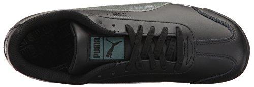 Puma Mens Roma Basic Holo Fashion Sneaker Puma Black