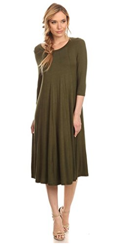 Buy below the knee length summer dresses - 5