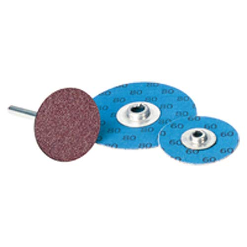 1''-120 Grit - Aluminum Oxide - Turn-On Quick Change Disc (Pack of 100)